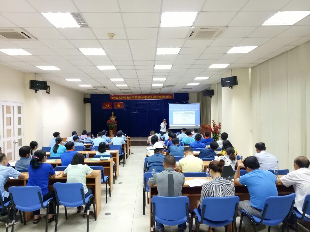 Chương trình PCCC tại Nhà máy nước B.O.O Thủ Đức